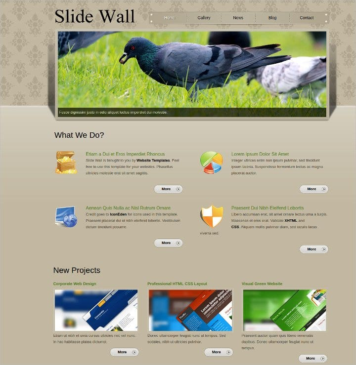 html-css-website-template