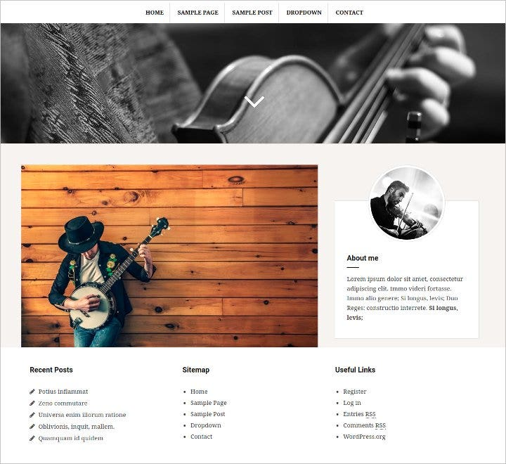 responsive wordpress blog theme1
