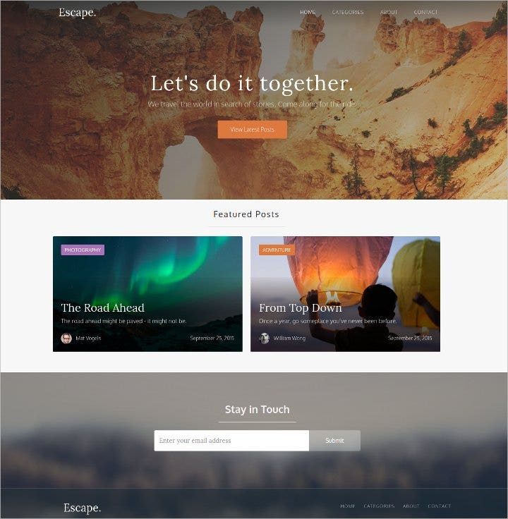 dynamic blog template free1