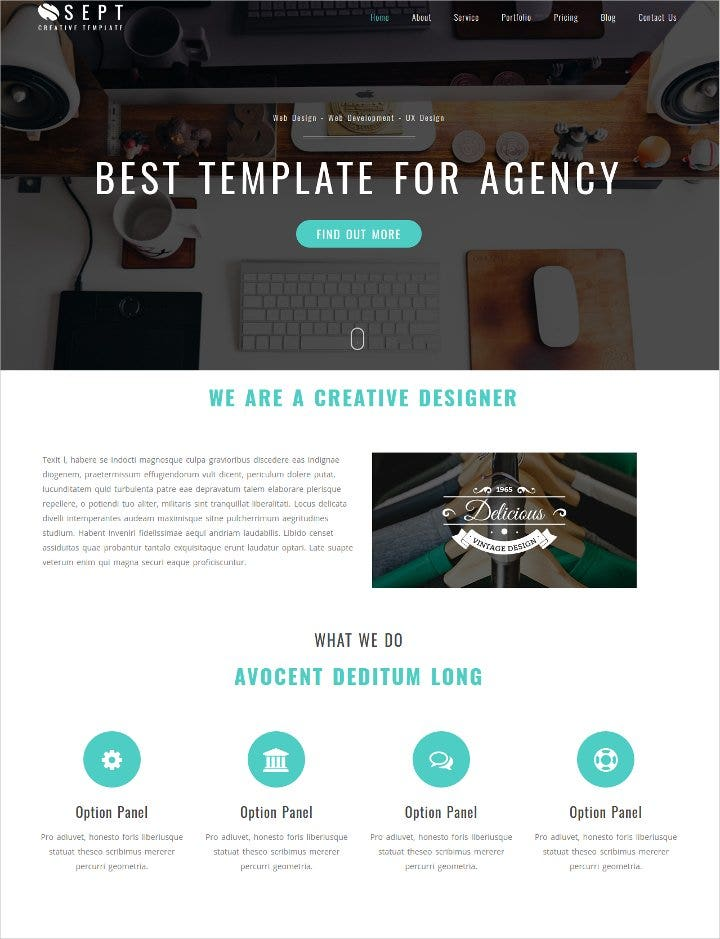 agency-bootstrap-template