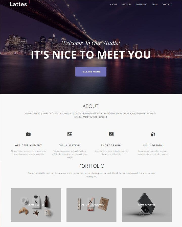 business bootstrap template1