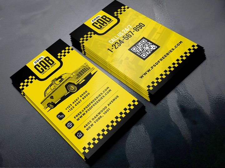cab-service-business-card