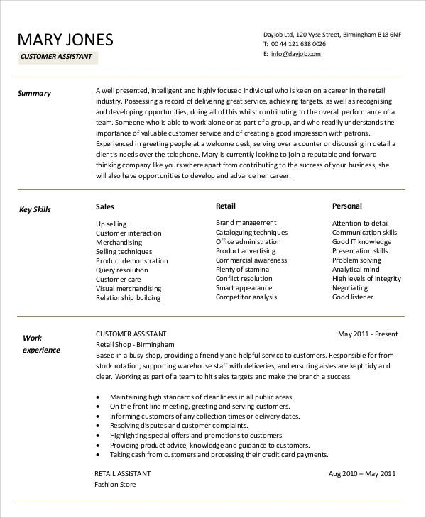 sales assistant resume collection of solutions marketing