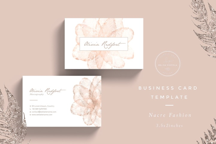 24+ Best Business Card Templates In PSD, Word, Apple Pages
