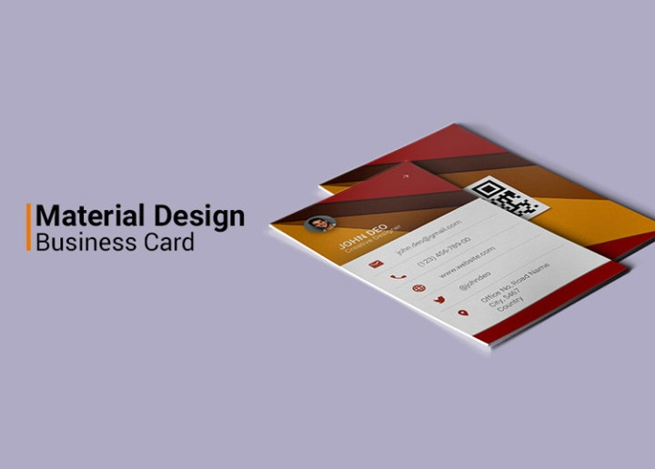 material-design-business-card