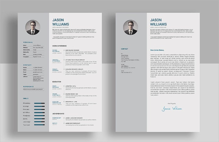 web graphic designer resume
