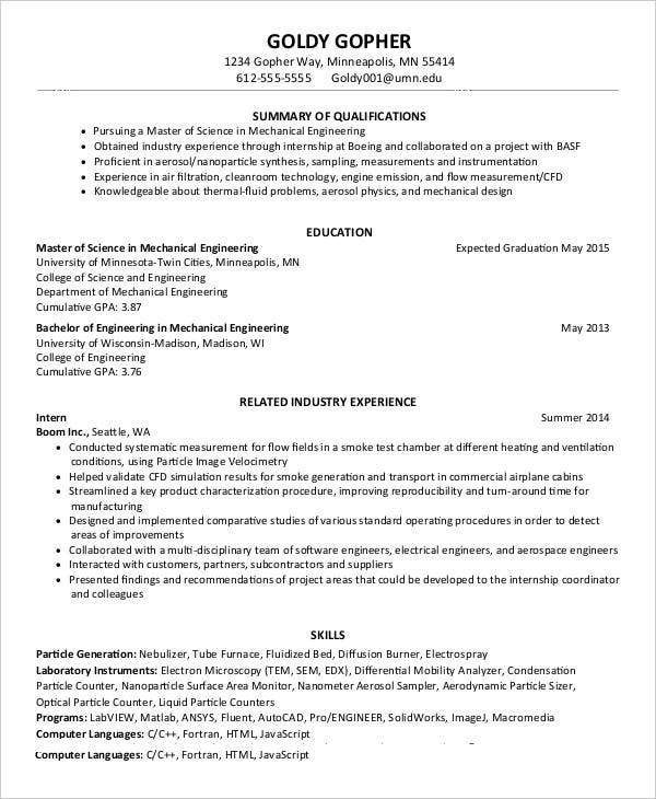 resume for teachers fresh graduate