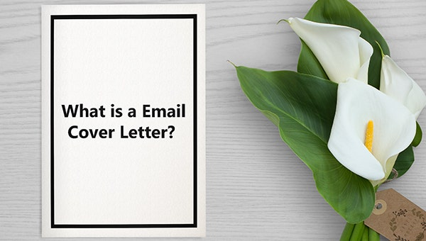 what is a email cover letter