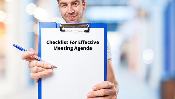checklistforeffectivemeetingagenda