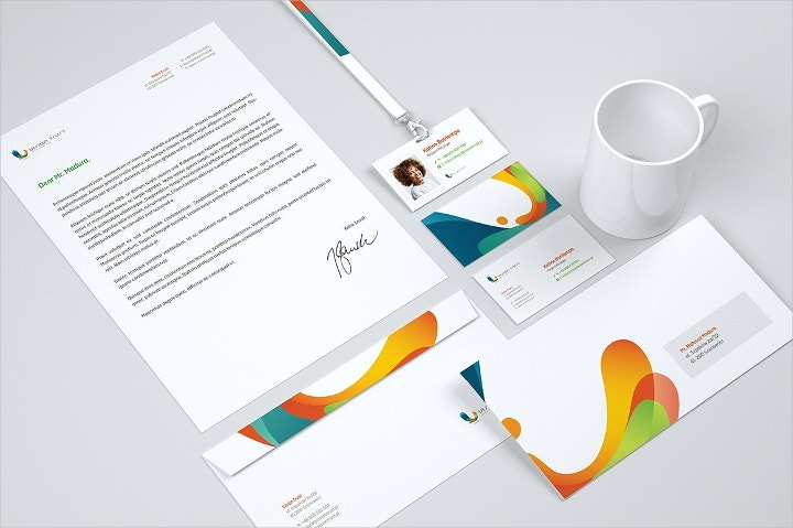 business corporate identity mockup