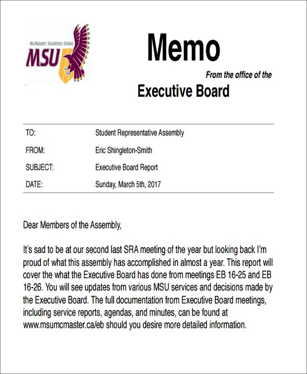 free executive board