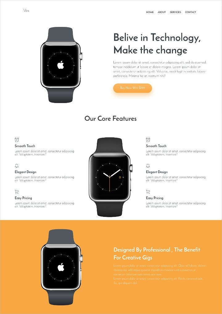product-landing-page-template