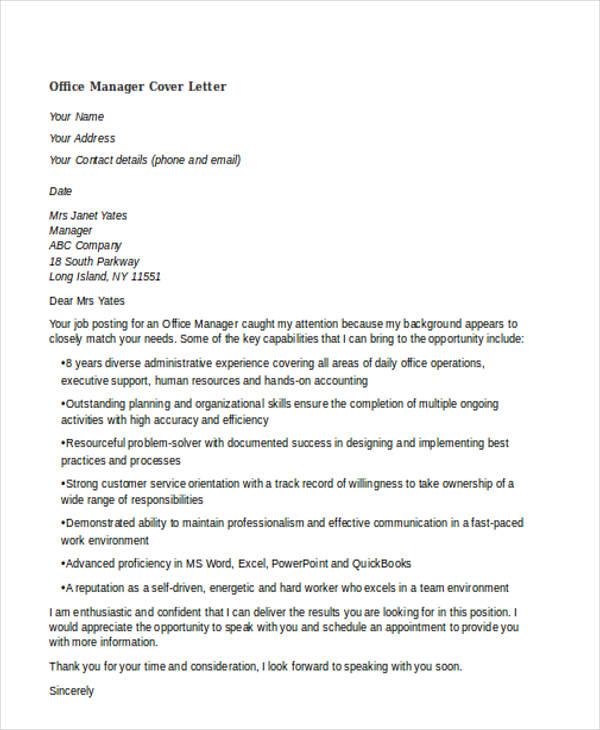 45+ Cover Letter Templates | Free & Premium Templates