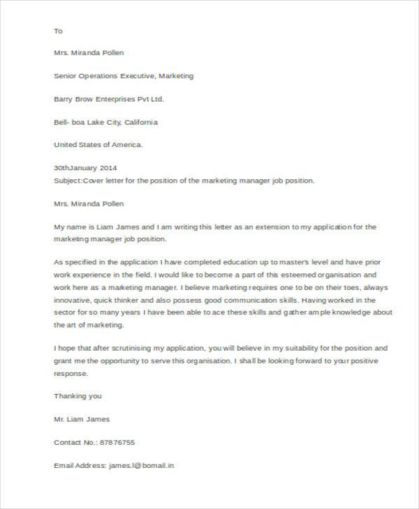 resume job application