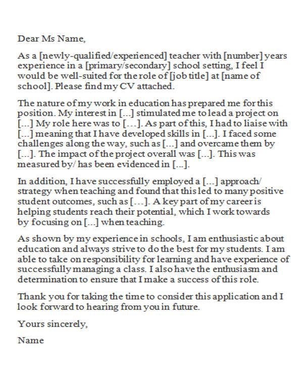 experience teacher