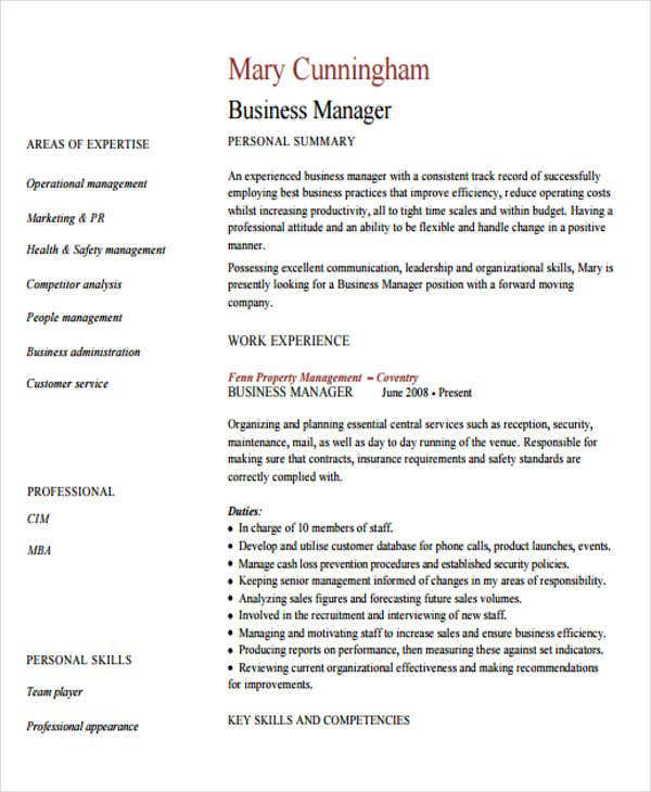 business manager1
