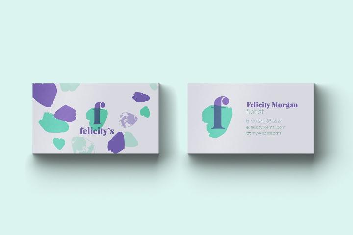 florist-business-card