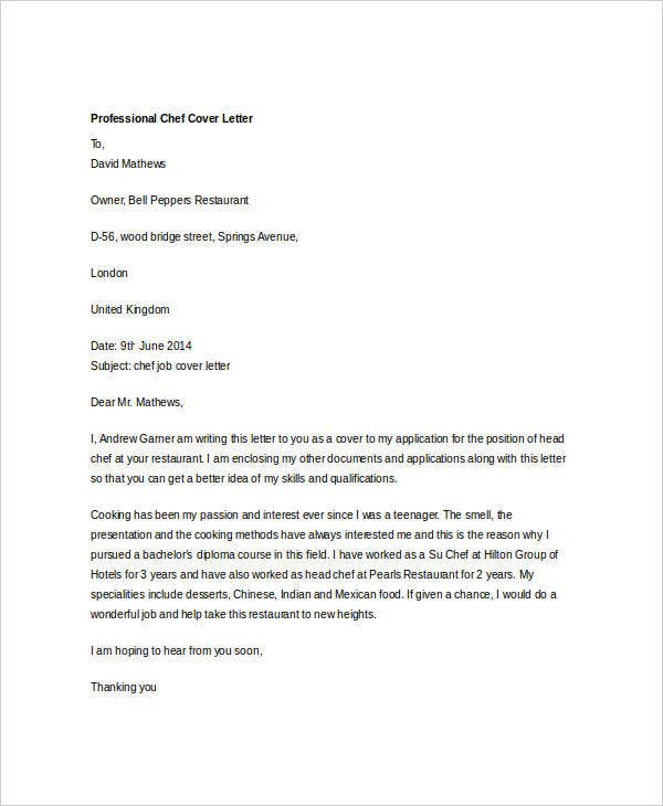 36 Cover Letter Template In Word Free Amp Premium Templates