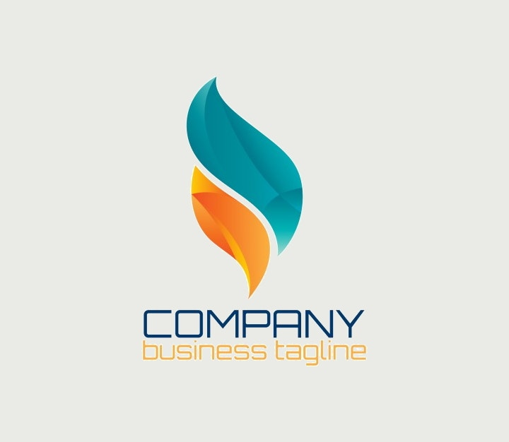 abstract-logo-in-flame-shape