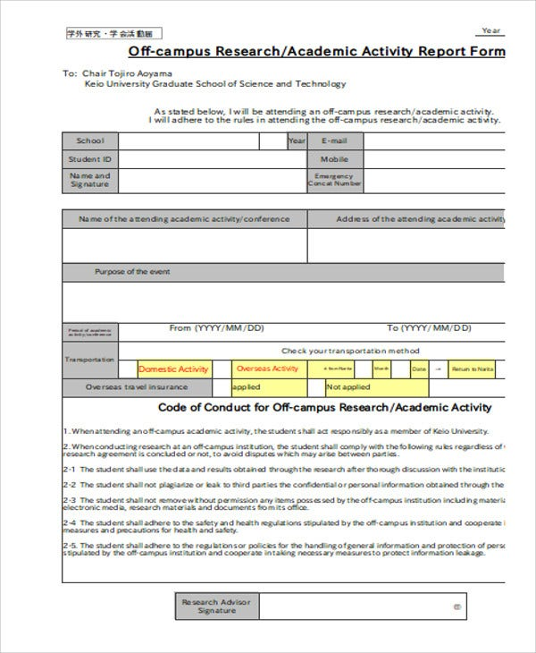 10+ Research Report Templates - Free Sample, Example Format
