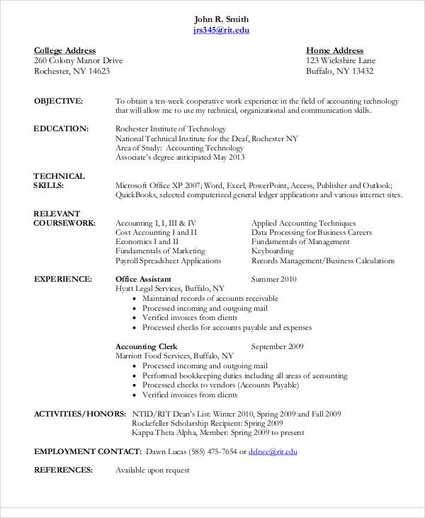 resume format for accountant resume format for accountant job 32