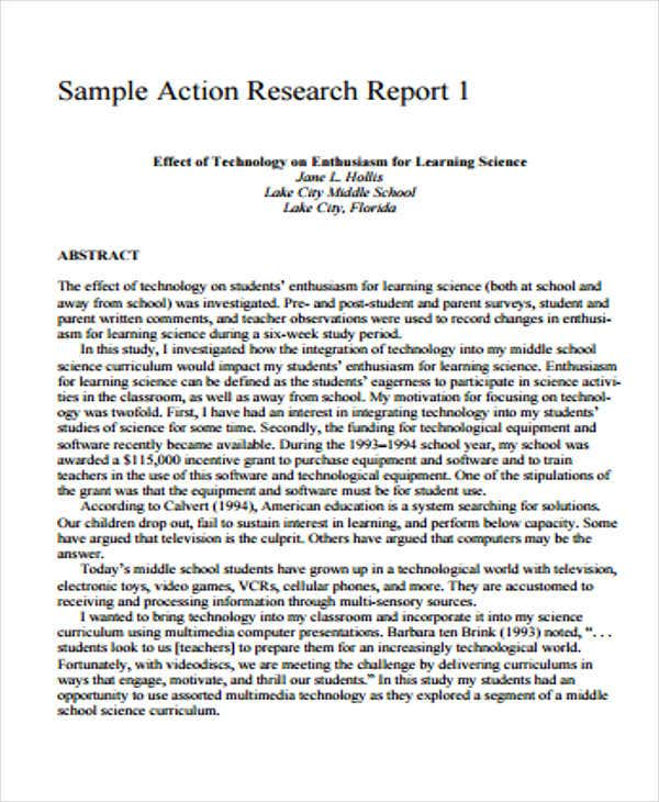 7+ Research Report Formats - Free Sample, Example Format Download
