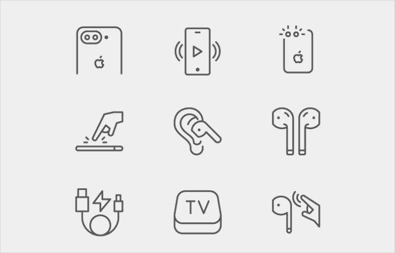 air-pods-icons