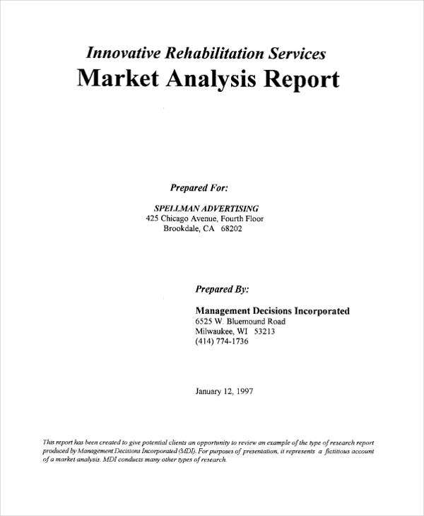analysis report1