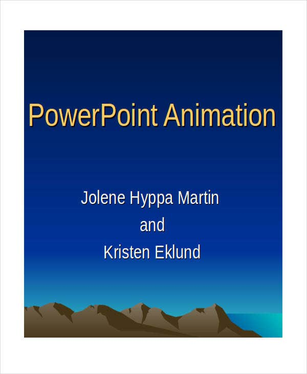 animated powerpoint