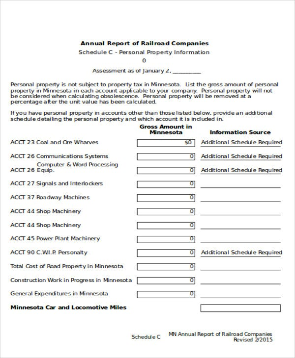 Company Report Templates   Free Word Pdf Format Download  Free