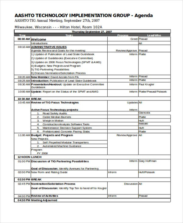Captivating Annual Agenda Template. Annual Meeting