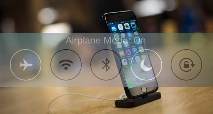 apple aeroplane mode