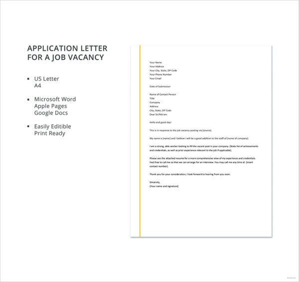 application-letter-for-a-job-vacancy-template