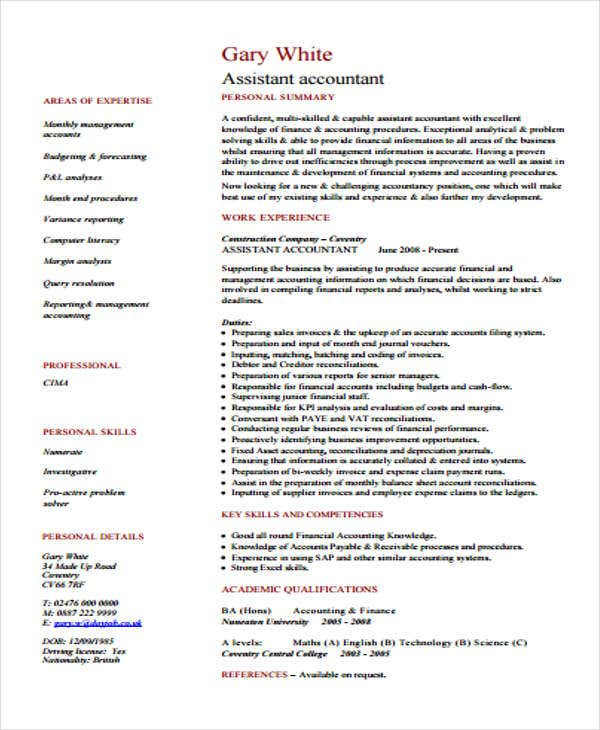 assistant accountant2