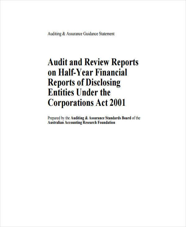 audit review
