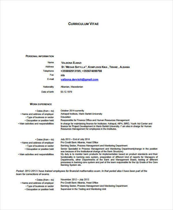 10 Office Manager Resume Templates Pdf Doc Free