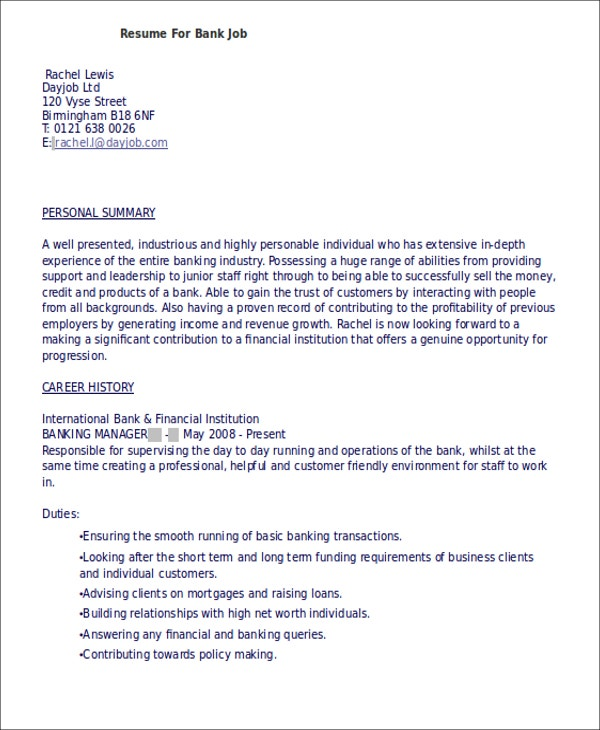 resume best objective in applying a resumes for