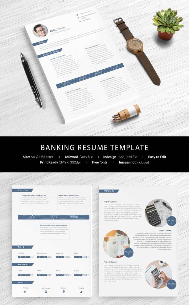 banking-resume