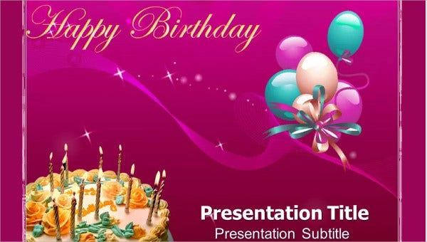 Birthday Powerpoint Templates 9 Free Ppt Format Download