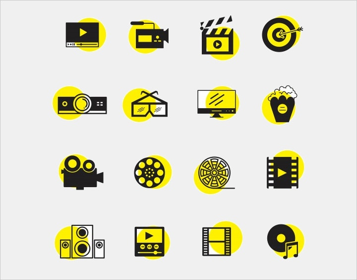 black-and-yellow-icons