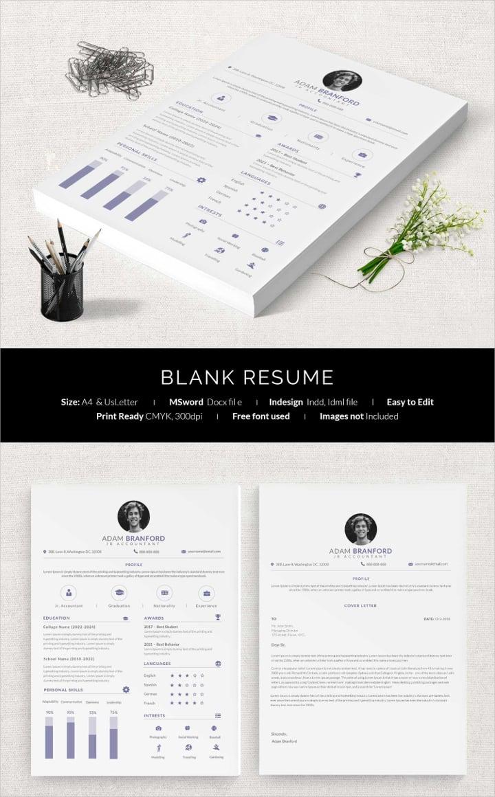 blank-resume