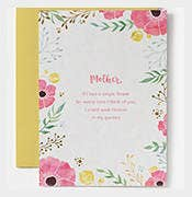 bloom mothers day card