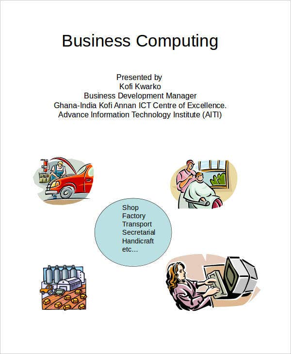business computing powerpoint