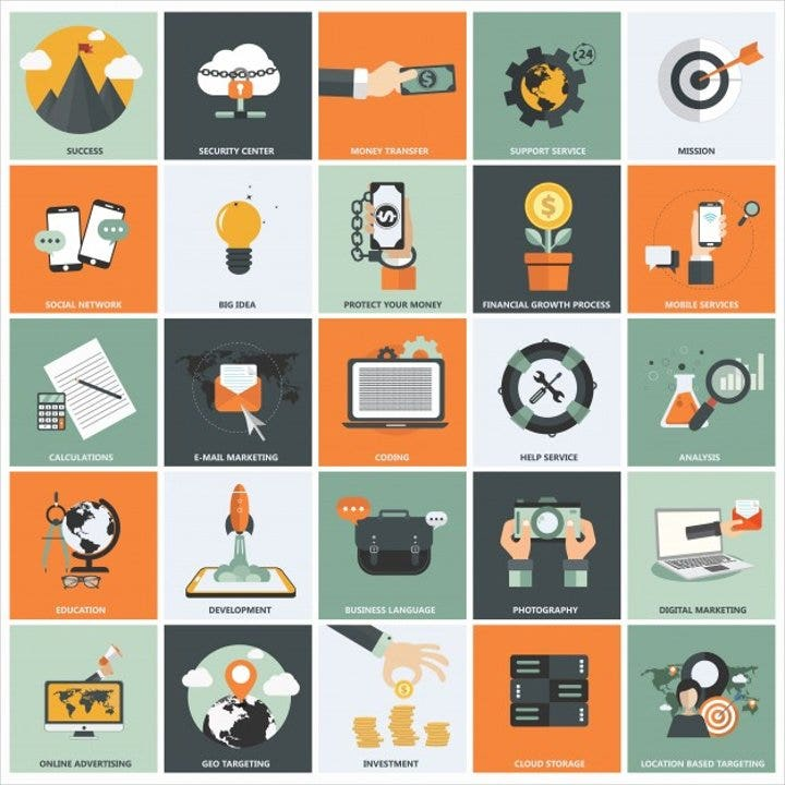 business-marketing-icons