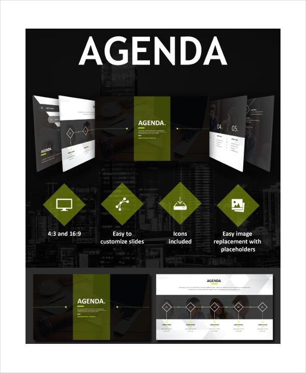 business meeting agenda7