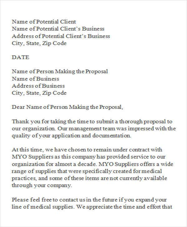 May  Samples Business Letters Declining An Invitation Template
