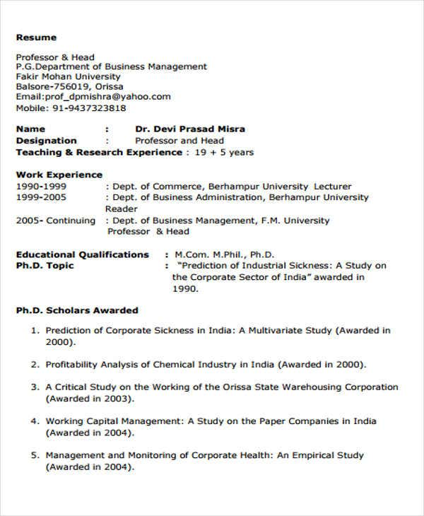 business resume1