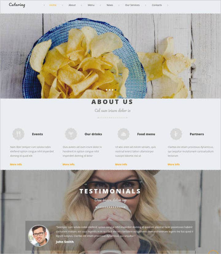 catering-site-design-with-cms