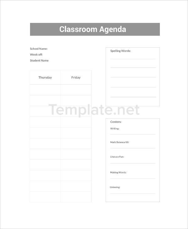 49+ Agenda Templates And Examples | Free & Premium Templates