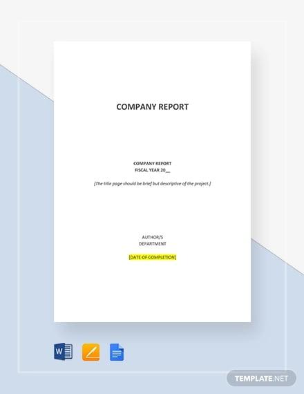 company report1